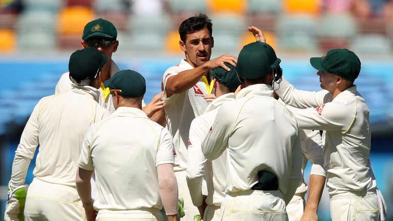Australia are on the verge of a First Test victory