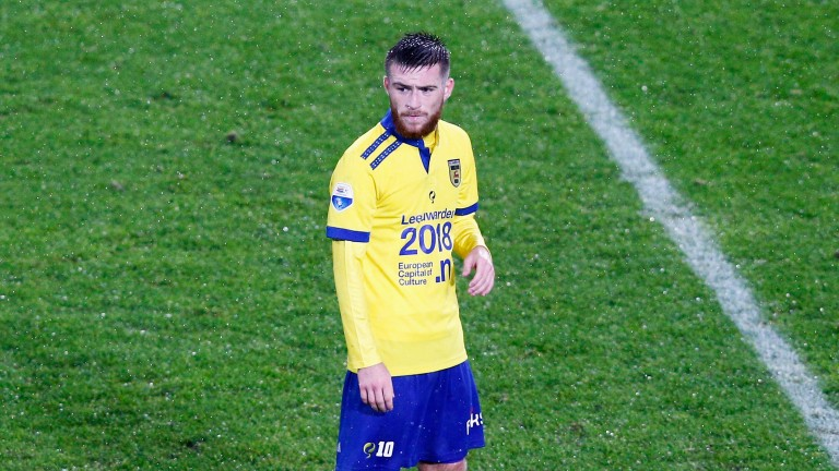 Oldham's Jack Byrne had a spell in Holland with Cambuur