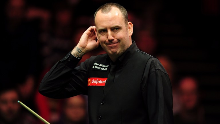 Mark Williams is unlikely to coast to victory in the final