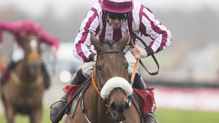 Mala Beach and Davy Russell power home to win the Troytown Chase at Navan