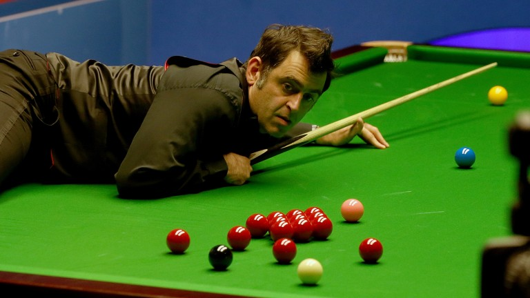 Ronnie O'Sullivan can continue to make hay in York