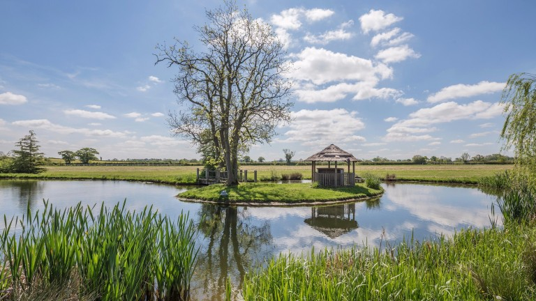 The picturesque Ladyswood Stud is located in Wiltshire