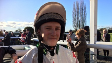 Jamie Gormley: rode his 24th winner of the year on Good Time Ahead