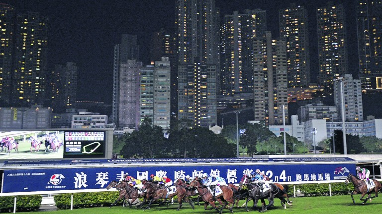 Racing takes place at Happy Valley on Wednesday