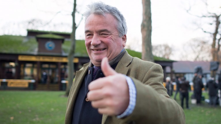 Nigel Twiston-Davies's title chance has been given thumbs-up by Paul Nicholls