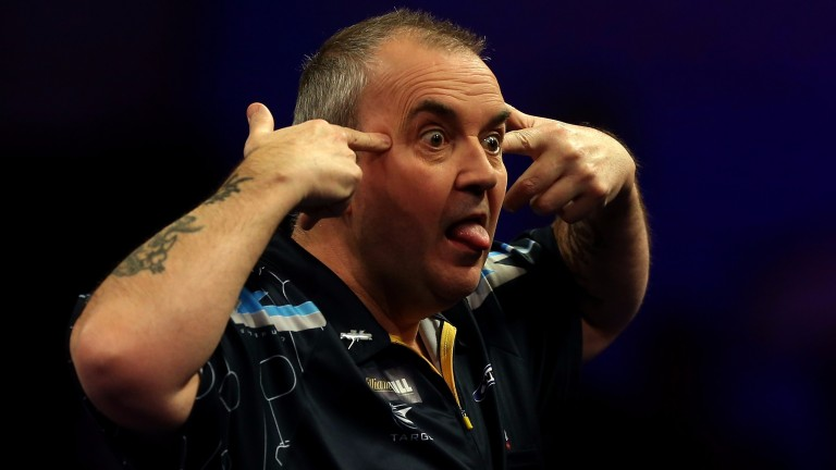 Phil Taylor's antics have cost him the affection of some darts fans