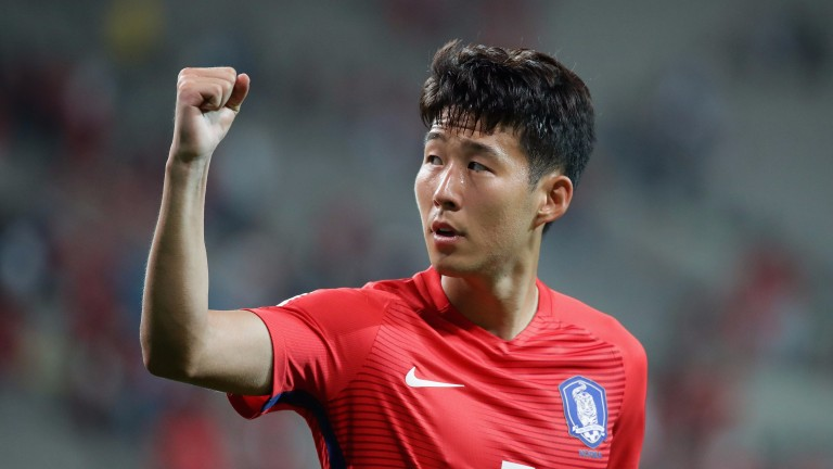 Heung-Min Son of South Korea
