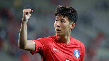 Heung-Min Son of South Korea