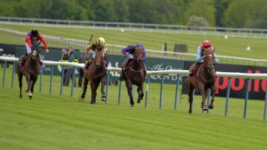 Red Verdon winning impressively at Haydock last year