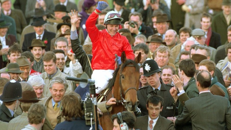 The Fellow finally landed the Cheltenham Gold Cup under Adam Kondrat in 1994