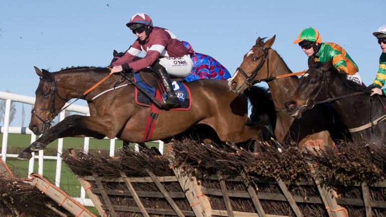 Folsom Blue: has leading claims in the €100,000 National Trial at Punchestown
