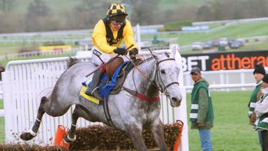 Rooster Booster and Richard Johnson claim Champion Hurdle glory in March 2003