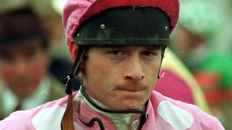 John Durkan the jockey at Fairyhouse in 1992