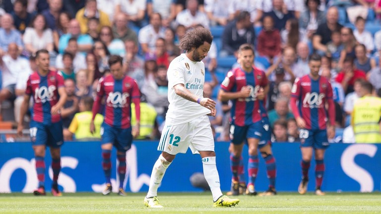Levante drew 1-1 with Real Madrid at the Bernabeu earlier this season