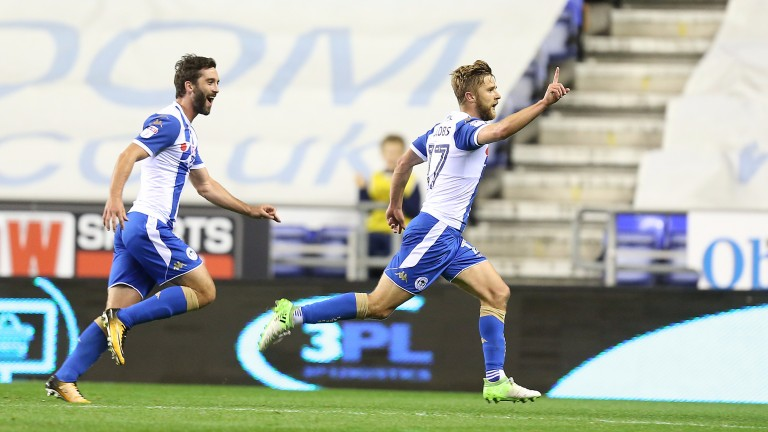 Michael Jacobs has scored in Wigan's last two matches