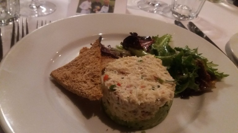 Hughes a good cook? Former Flat ace was chuffed with his crab starter