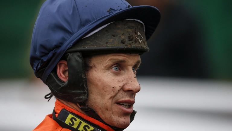 Richard Johnson: recovered from Towcester fall on Thursday
