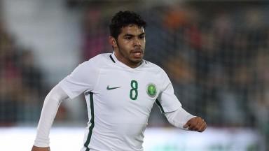 Saudi Arabia midfielder Yahya Al Shehri