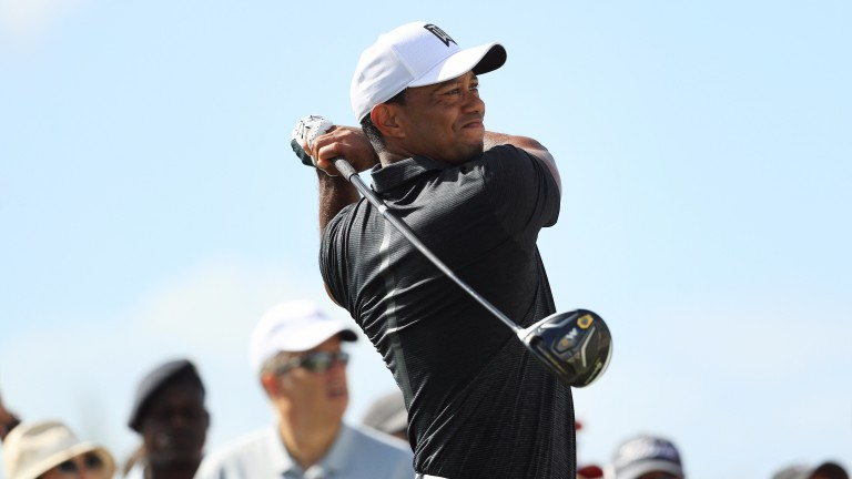 Tiger Woods has been well backed for victory this week