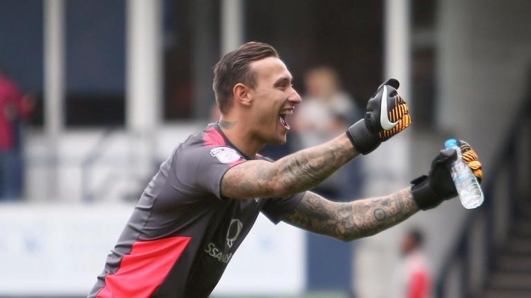 Luton goalkeeper Marek Stech