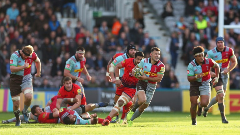 Scrum-half Danny Care is Harlequins' creative spark