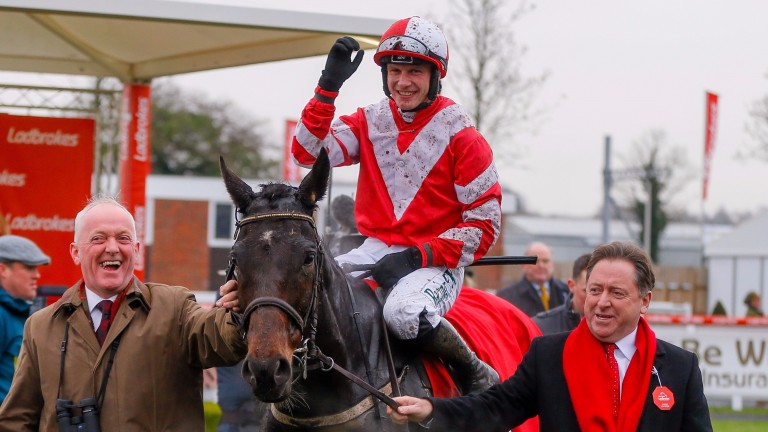 Total Recall: looks very well handicapped back over hurdles