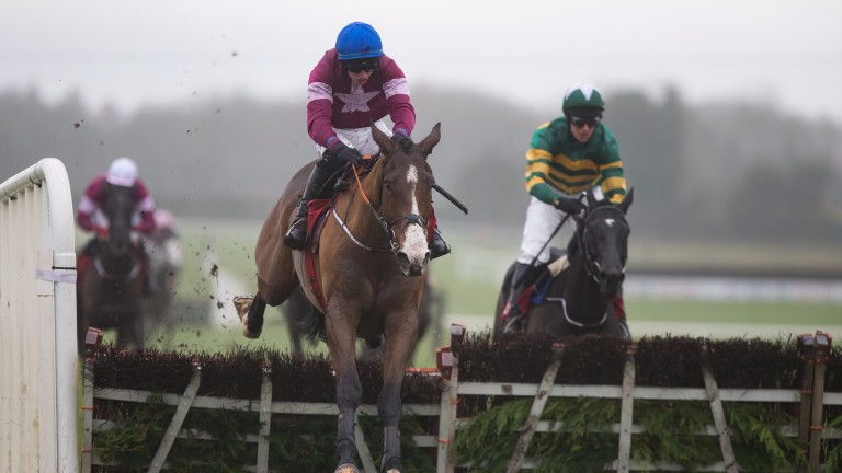 Mengli Khan is the headline attraction in the 2.10 at Punchestown