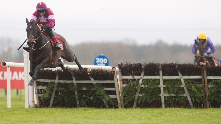 Apple's Jade and Jack Kennedy win the Hatton's Grace Hurdle