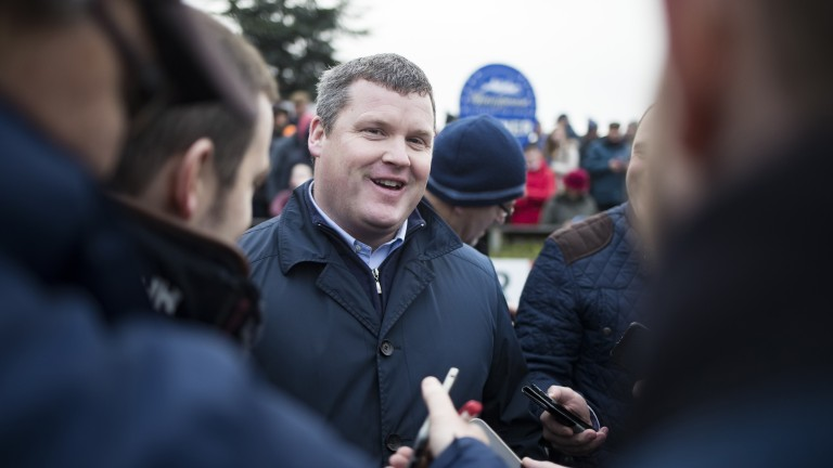 Gordon Elliott has enjoyed another fine start to his campaign and leads Mullins by almost €500,000