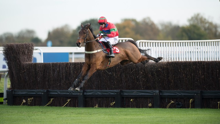 Eyesopenwideawake: bidding to follow up his Kempton win at Southwell on Tuesday