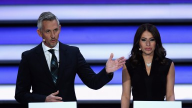BBC presenter, Gary Lineker was part of the World Cup draw