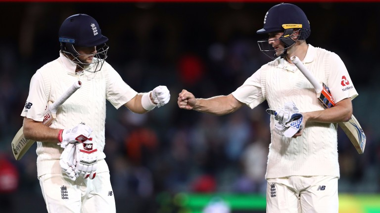 Joe Root and Chris Woakes starred as England fought back on day four of the Second Ashes Test