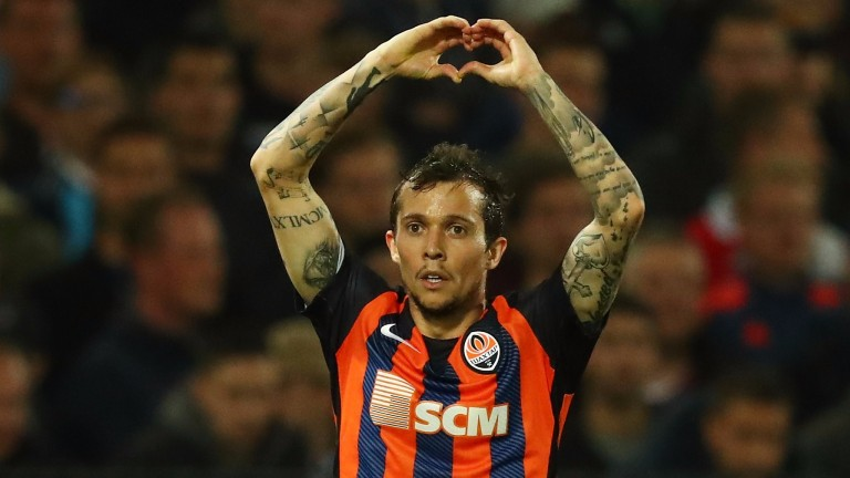 Shakhtar schemer Bernard could open the scoring