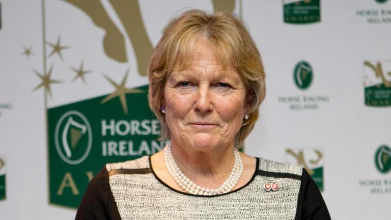 Jessica Harrington: capped a dream season with National Hunt award