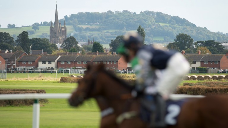 Hereford: racing on Monday