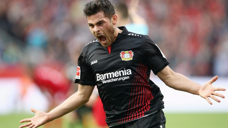 Leverkusen's Kevin Volland has been banging in the goals