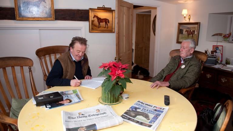 Alastair Down interviews Peter Walwyn at his home in Upper Lambourn