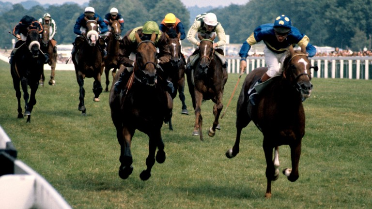 "Pat Eddery on Grundy (right): ""Grundy was so game, he had such a big heart"""