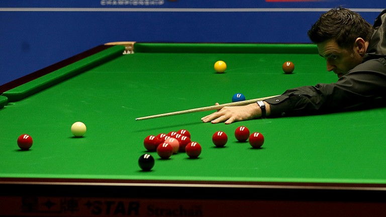 Ronnie O'Sullivan will have to be on his guard in his semi-final