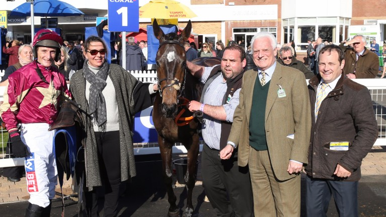 Beer Goggles with the Bradley Partnership and Richard Woollacott at Ayr last year