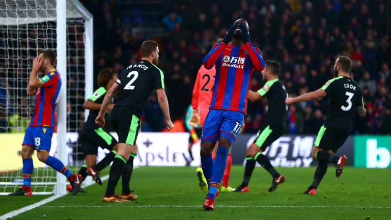 Crystal Palace have scored 12 fewer goals than OPTA have expected them to this season