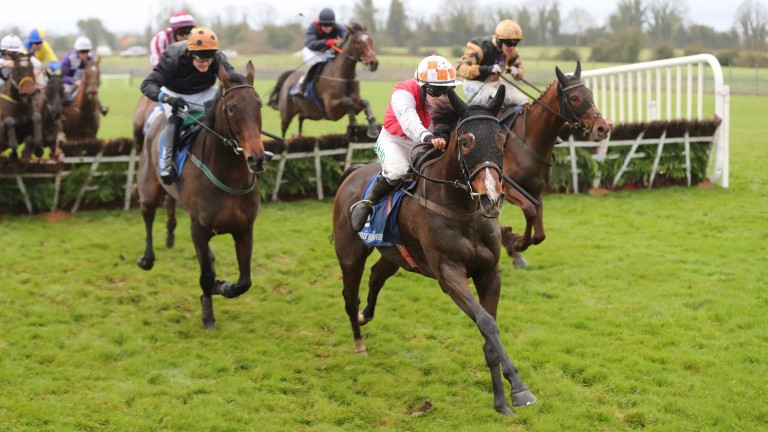 Davids Charm leading the way in a Fairyhouse handicap last season
