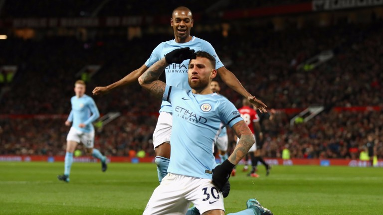 Nicolas Otamendi's winner helped Manchester City move 11 points clear at the top of the Premier League