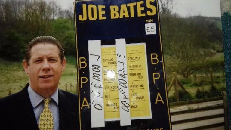 Racecourse bookmaker John 'Joe' Bates, who has died aged 72