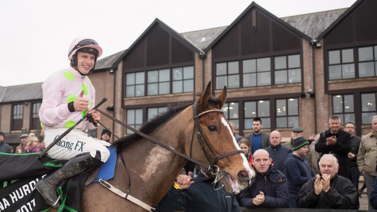 Townend and Faugheen after winning the Unibet Morgiana Hurdle last month