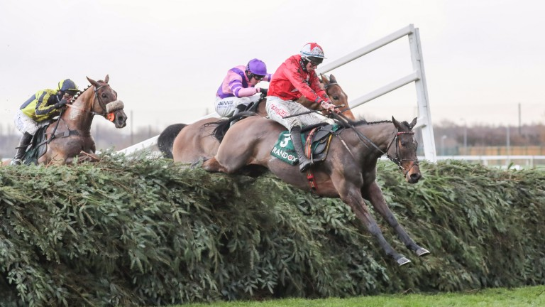 Blaklion: the Grand National favourite heads to Haydock on Saturday