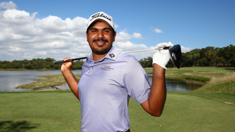 Indian golfer Gaganjeet Bhullar