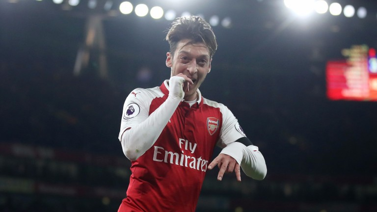 Arsenal always seem to play better when Mesut Ozil is at his best