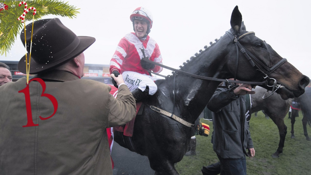 Christmas Horse Racing.Big Interview With The Man Set To Ride Douvan And Faugheen