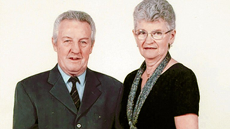 Nash and wife Wendy celebrate their golden wedding anniversary